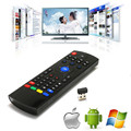 2.4 Ghz Wireless Mini Keyboard Fly Air Mouse MX3 Para mini pc HTPC inteligente Laptop tv matar z4 t95 m8s Android TV Box Controle Remoto