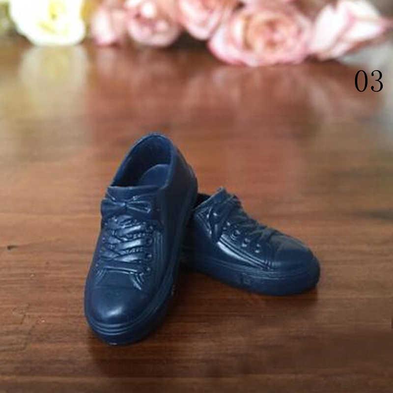 f05a30374d2 ... 1 пара модная обувь для куклы спортивная обувь цена Кен мужской  аксессуары кукол парень Кэн высокое
