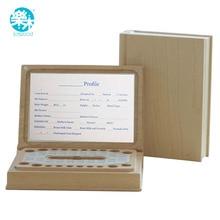 Baby Tooth Box book organizer Woodedn storage box Milk teeth house creative kids montessori Christmast and