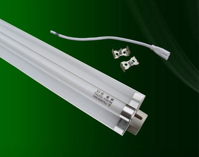 Free shipping fluoresent t5 fluorescent tube light fixture-in Energy ...