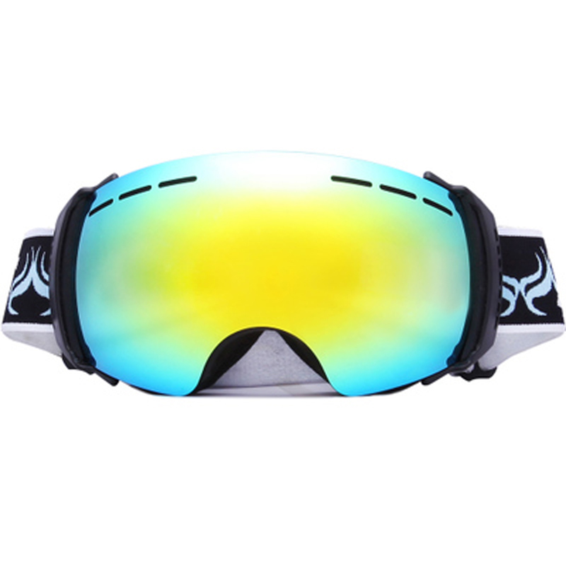 Prix pour Nouvelle D'hiver En Plein Air Ski GogglesTravel Anti Vent Sécurité de Haute Qualité Lunettes Rayonnement Lunettes Défi Chaud En Plein Air Nécessités