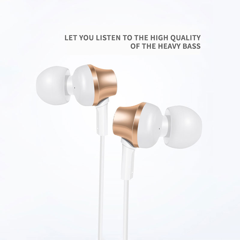 Dprui 3.5mm In-Ear Earphone Stereo earphones With Microphone fone de ouvido Metal Bass HiFi music earphone For IPhone Android PC купить в Москве 2019