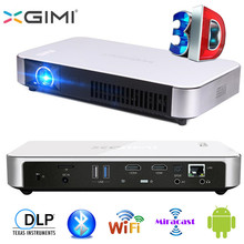 DHL XGIMI Z3 + SLP Inteligente LED Proyector 1280×800 MINI Andriod 4.4 WIFI Miracast Bluetooth LED 3D Proyector DLP Portátil proyector