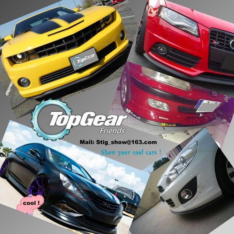For Chevrolet Spark Bumper Lip Lips Top Gear Shop Spoiler For Car Tuning Topgear Body Kit Strip