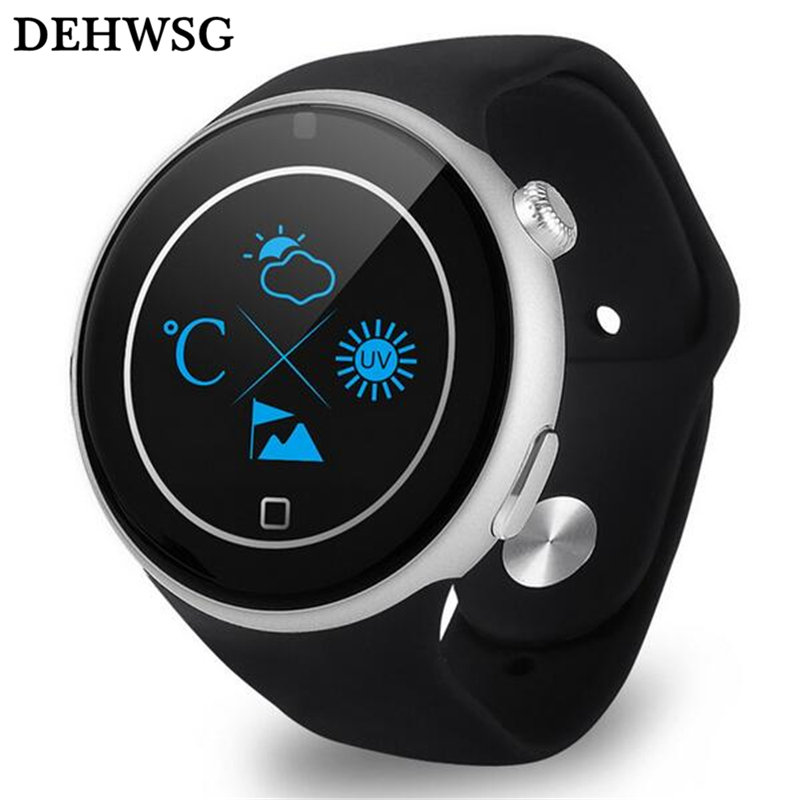 DEHWSG Bluetooth smart watch C5 Heart rate monitor Alarm clock vibration Wristwatch MTK2502 Sports smartwatch For iPhone Android