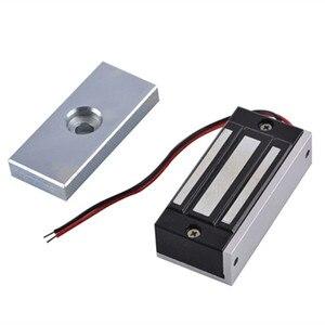 Image 5 - SZBestWell 60 kg/180 kg/280 kg (100LBS 350LBS 600LBS) מחזיק כוח חשמלי מנעול מגנטי להשתמש עבור בקרת גישה מערכת שימוש