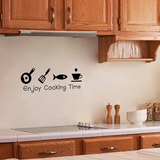 New Design Creative DIY Wall Sticker For Kitchen-Free Shipping For Kitchen 3D Wall Stickers