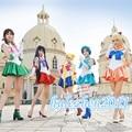 Anime sailor moon cosplay uniforme fancy party dress com luvas para menina mulher