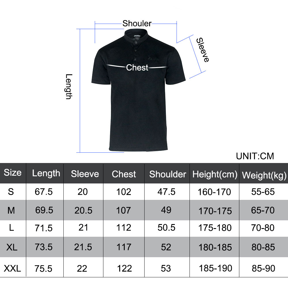 Outdoor Men's Po-lo Shirt Solid Color Short Sleeve Sports Clothes Tactical Simple Half Sleeve