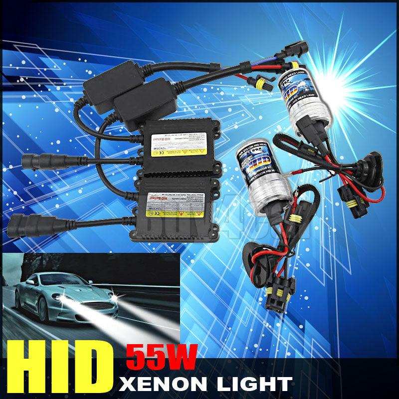 ФОТО 55w slim ballast xenon bulb h1 h3 h7 h8 h9 h10 h11 9005 9006 3000k 4300K 6000k 8000k 12000k 12v Hid Conversion Kits