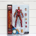 "NEW 2015 Marvel Select Iron Man MK43 Mark XLIII Armor PVC Action Figure Collectible Model Toy 7"" 18cm"