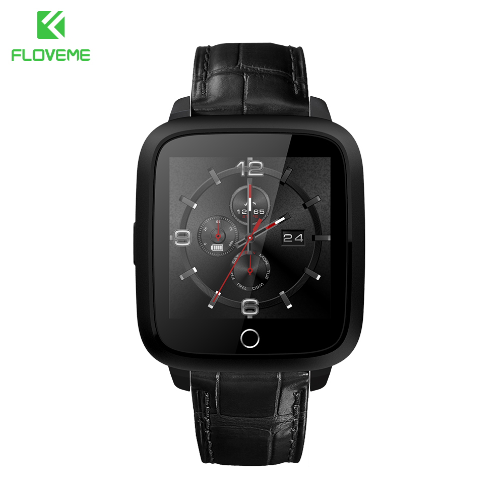 FLOVEME Core 1.54 IPS Android Smart Watch Wristband Bluetooth 4.0 WIFI 1G RAM 8G ROM Wearable Device Smart Bracelet Watch