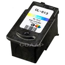 1 PCS PG513 XL Couleur Rechargeable cartouche D'encre pour Canon PG 513 MP240 MP250 MP270 MP230 MP480 MX350 IP2700 P2702 Haute qualité