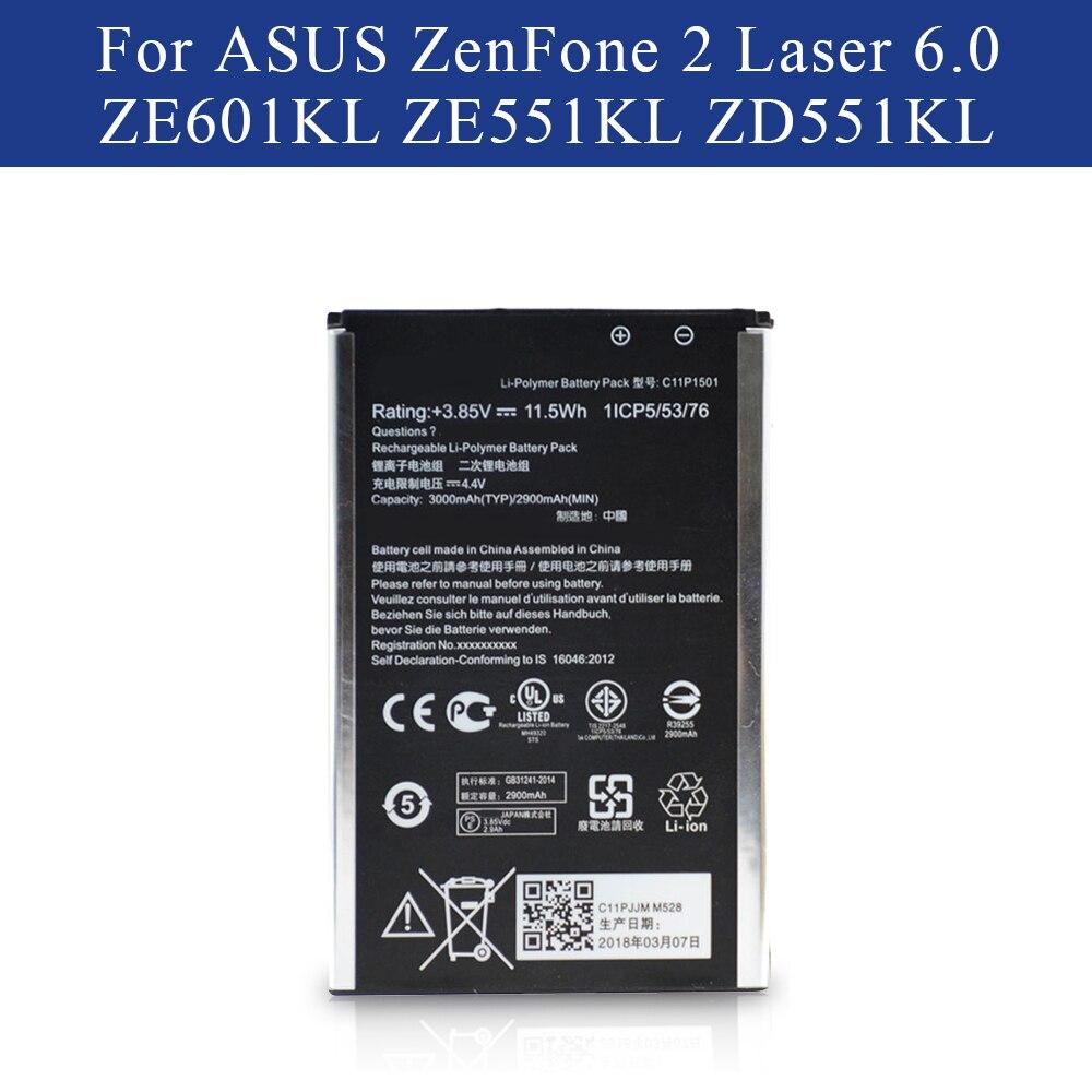 Battery C11P1501 For ASUS ZenFone2 Laser 5.5/6 zenfone selfie ZE550KL ZE601KL Z00LD Z011D ZD551KL Z00UD Best Quality AkkuBattery C11P1501 For ASUS ZenFone2 Laser 5.5/6 zenfone selfie ZE550KL ZE601KL Z00LD Z011D ZD551KL Z00UD Best Quality Akku