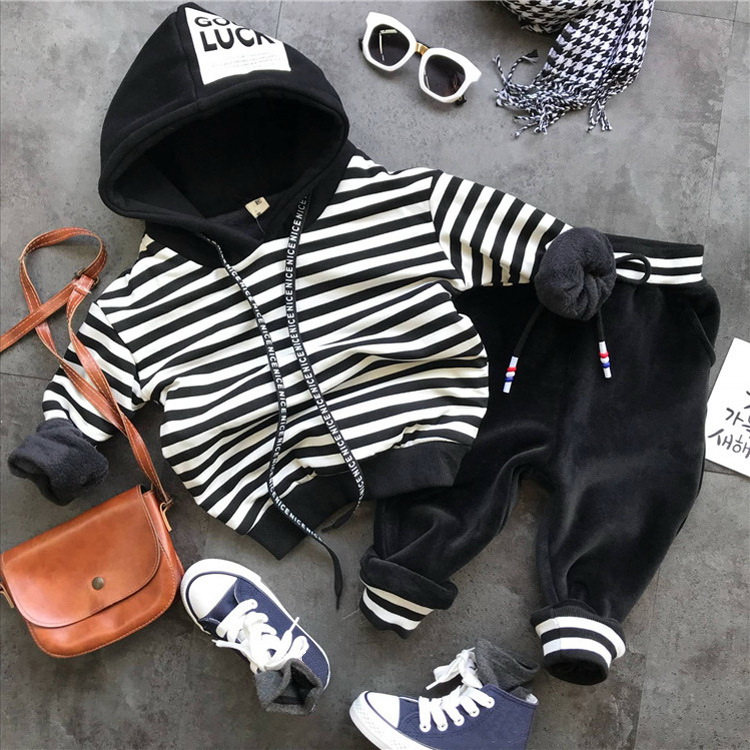 Children Clothing 2018 Autumn Winter boys Clothes Hoodies+Pants Christmas Outfit Kids Boys Clothes Suit For boys Clothing Sets