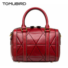 TOMUBIRD New Superior cowhide leather Designer embossed Pillow bag famous brand women bag fashion Tote women genuine leather bag