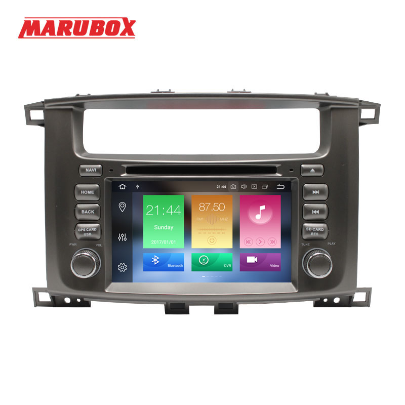 Marubox 7A112PX5 Car Multimedia player for Toyota LC100 2002 2007 Octa Core Android 9 0 4GB