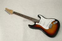 Hot Sale Classic Vintage Sunburst Color St Guitar 22 Frets Rosewood Fingerboard Chinese Electric Guitar Support