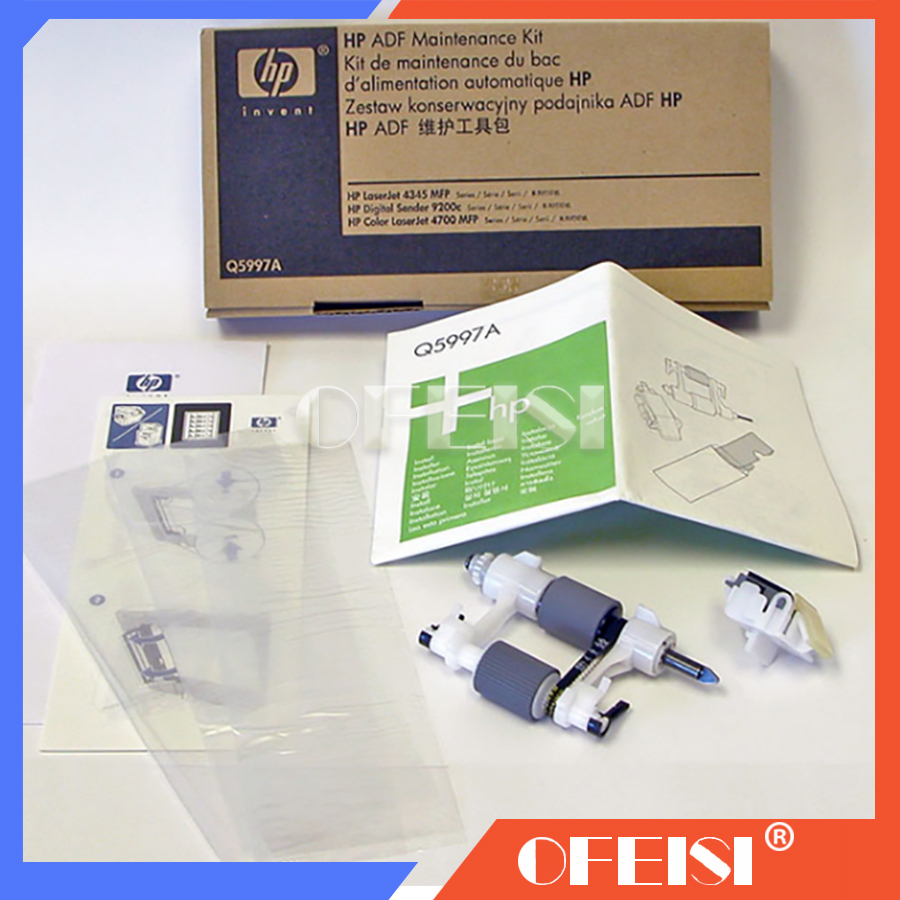 100% Original new Q5997-67901 Q5997A ADF maintenance kit for CM4730MFP 4730 4345MFP M4345 4345 9200C 9200 9250  Spare parts100% Original new Q5997-67901 Q5997A ADF maintenance kit for CM4730MFP 4730 4345MFP M4345 4345 9200C 9200 9250  Spare parts