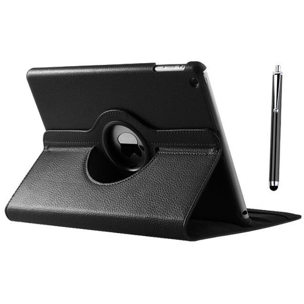 360 Degree Rotating Stand Leather Shockproof Protective Skin Cover Tab Case For Apple Ipad 2017 9.7