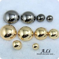 Free shipping Quality buttons metal button overcoat sweater buttons gold mushroom