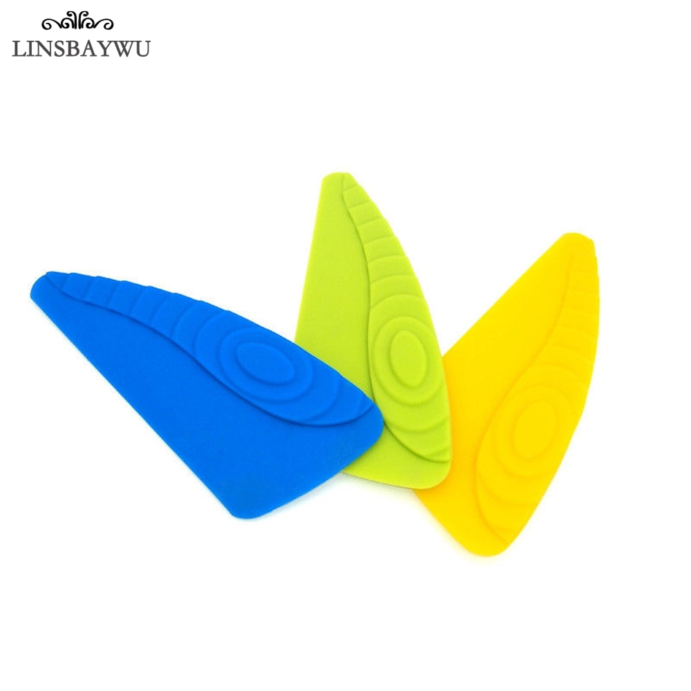 LINSBAYWU Hot Sale Silicone Dish Squeegee Washing Food Pan Cleaning Scraper Cooking Tools