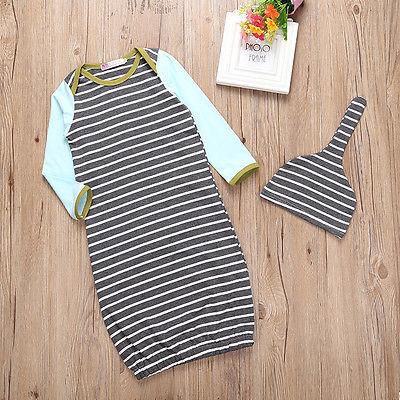 fb2146a70 2017 New Cute Newborn Infant Toddler Baby Girls Boy Pajamas Long ...