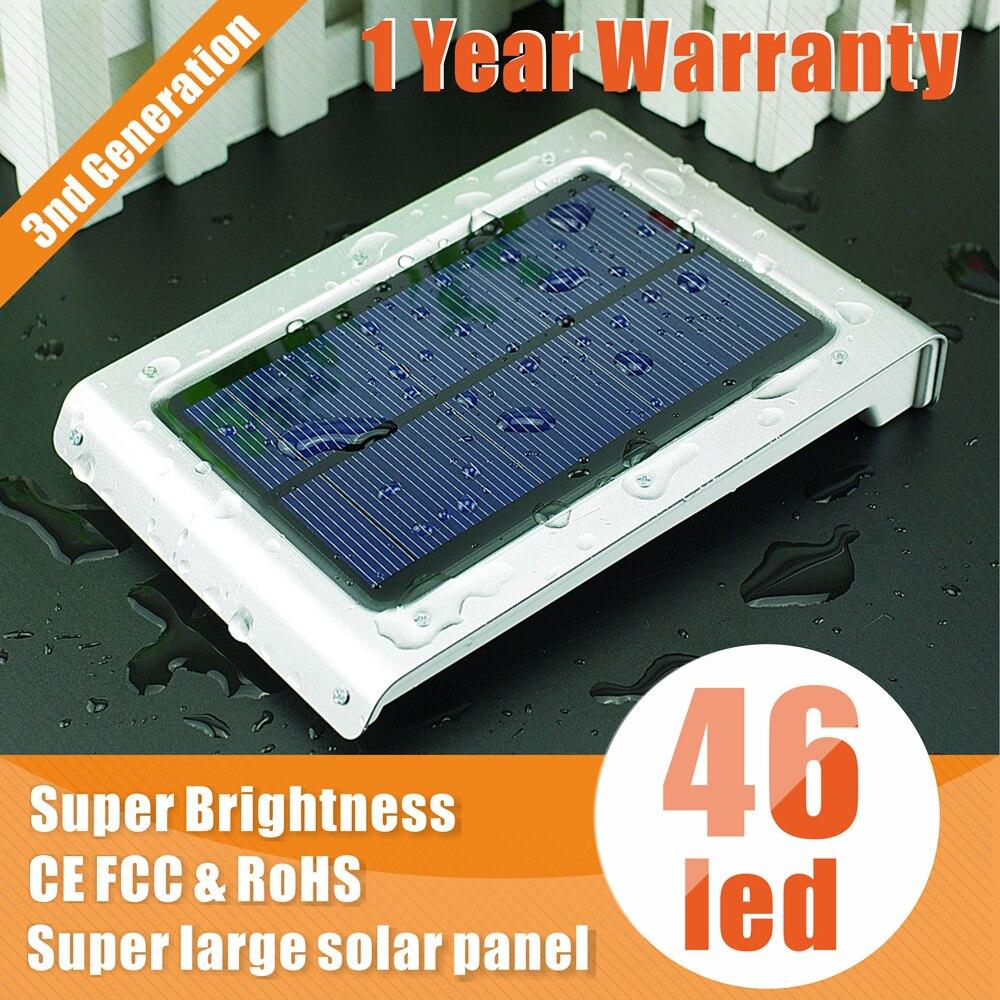 led solar light lamps outdoor 46LED motion sensor lamp garden waterproof Outdoor Lighting decoration luz - Colife store