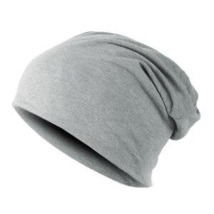 Image 2 - Зимние теплые шапки для женщин 2020, повседневный стиль, вязаный берет, мужские шапки, одноцветные, в стиле хип хоп, Skullies, унисекс, женские шапки