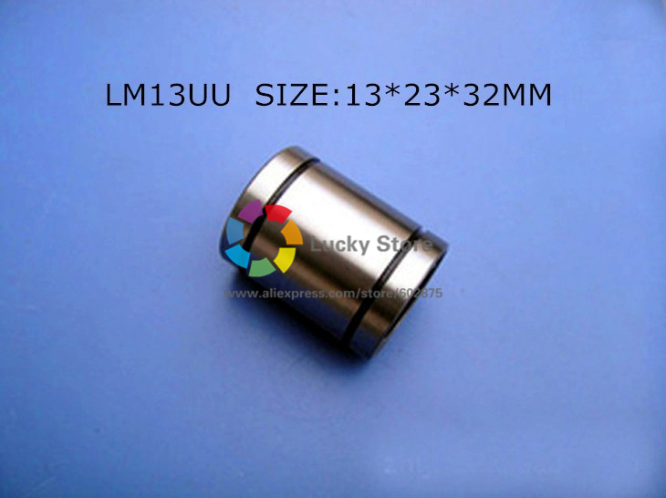 LM13UU bearing  Free Shipping 10pcs/lot LM13UU 13mm 13x23x32mm 13mm Linear Ball Bearing Bush Bushing