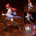 20 cm Anime Fairy Tail Erza Scarlet 2 Edição Boneca PVC Figura de ação Sexy Cute Girl Figurine Collectible Modelo Brinquedos Presentes RT202
