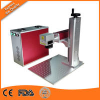 Portable 20 Watt Fiber Laser Engraver Marker Machine On Sale Of High Configuration