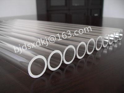 Quartz furance tube / OD*L=70*1000mm / high-temperature / high purity clear quartz tube