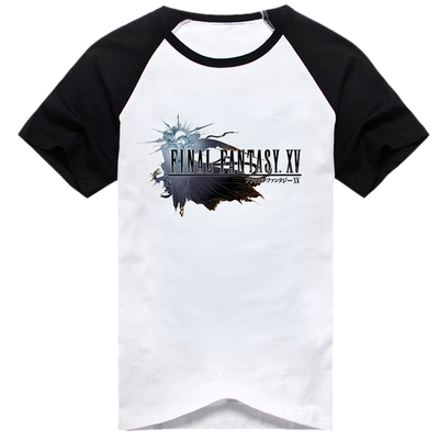 Final Fantasy XV T-shirt Anime FF15 Men T Shirt women cotton Short Sleeve Tshirt Tops Tee