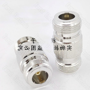 Image 3 - 10pcs/lot  N KK Female To Female Connector Double Pass Adapter External Screw Hole Connector N 50KK