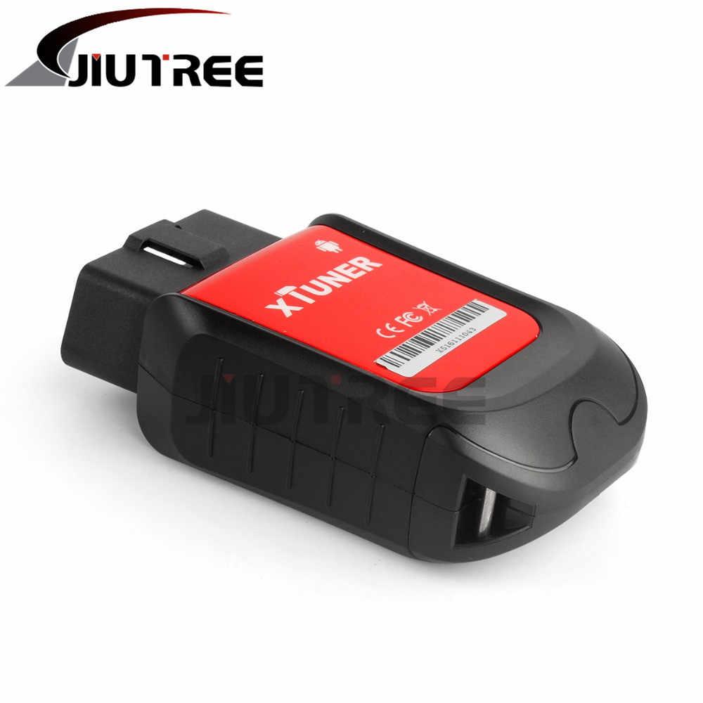 JIUTREE XTUNER X500 VPecker Otomatik Teşhis Tarayıcı Evrensel OBD2 Araç Teşhis Aracı ile kullanılabilir android cep telefonu T