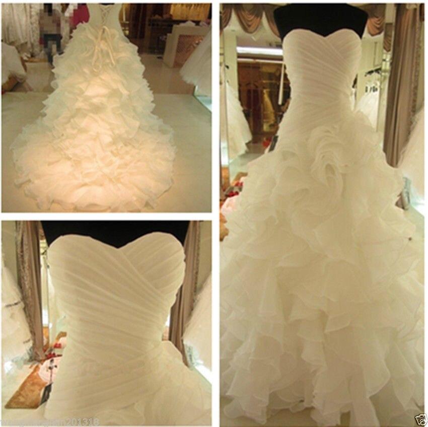 2019 Hot Sexy nouvelles robes de mariée sans bretelles hiver blanc dentelle perles sirène robe de mariée suknia slubna