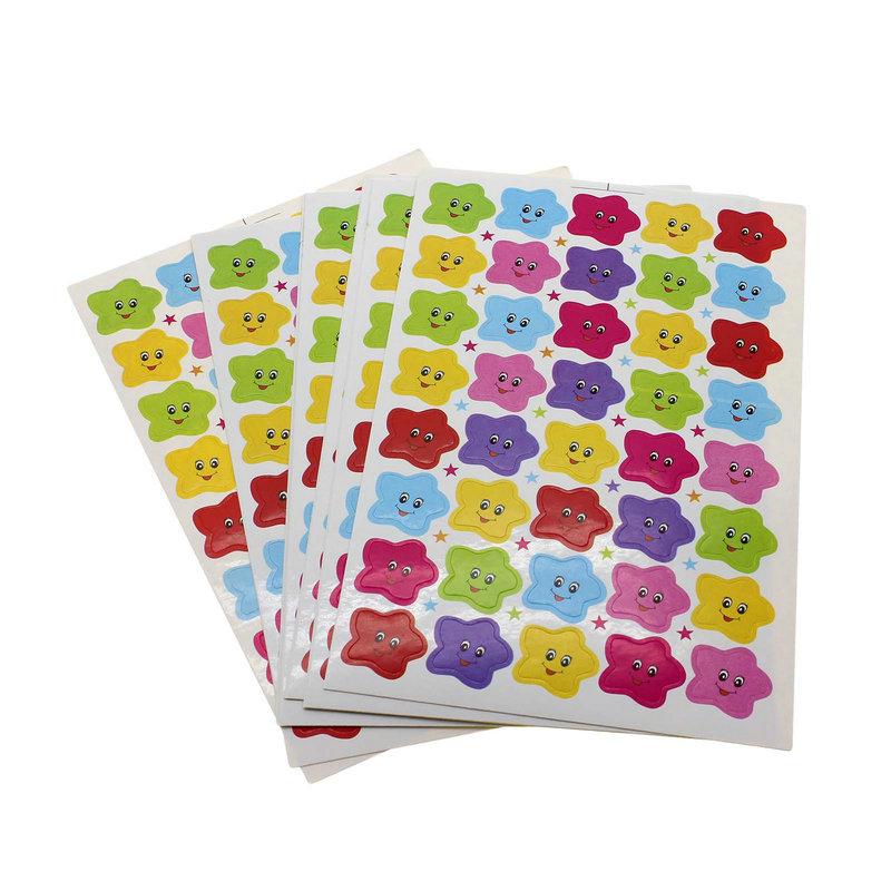 kvadrokopter 400Pcs Children Kids Stars Smiley Face Reward Stickers Perfect for encouraging children