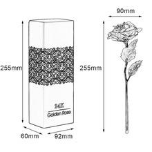 24K Gold Foil Plated Rose