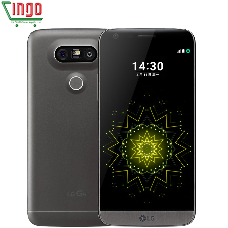 "LG G5 H820 H830 H850 F700 H860N Mobile Phone 3 Camera Quad-core 4GB RAM 32GB ROM 5.3"" 4G WIFI GPS Refurbished LG G5"