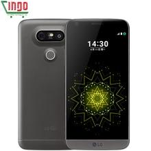 LG G5 H820 H830 H850 F700 H860N мобильный телефон 3 Камера Quad-core 4 Гб Оперативная память 32 ГБ Встроенная память 5,3 «4G WI-FI gps Восстановленное LG G5