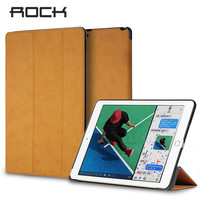 ROCK Leather Case For IPad Pro 10 5 Magnetic Flip Case For 2017 IPad Pro Auto