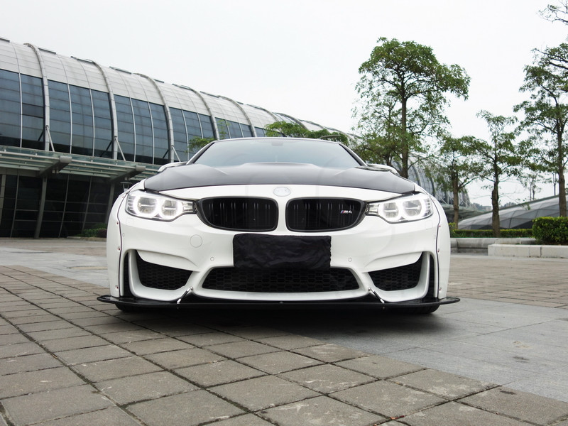 2014-2016 BMW F82 M4 LB Performance Style Body Kit CF (37)
