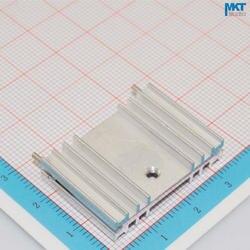100 Шт. 32 мм х 7 мм х 22 мм Чистый Алюминий Охлаждения Fin Радиатора Теплоотвод