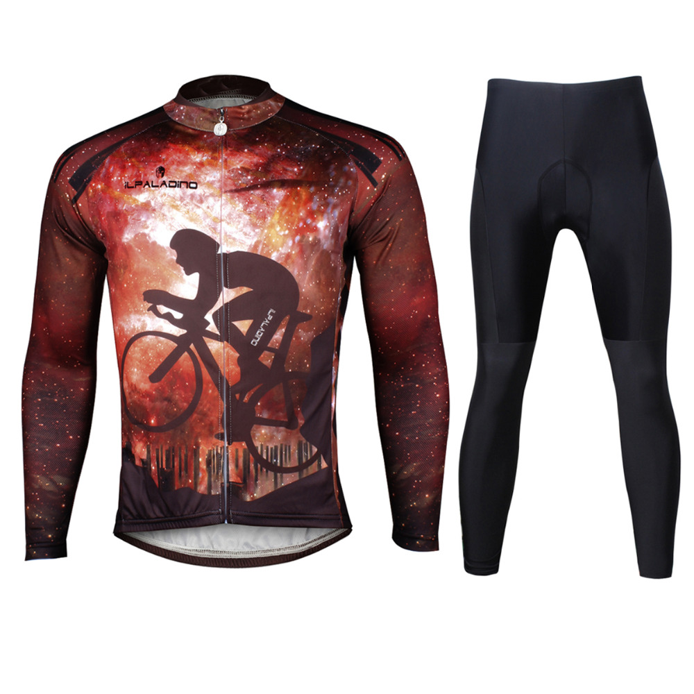 Cycling Jersey Men Rider Long Sleeve Cycling Clothing Men Cycling Jersey Cycling Sets X722 кастрюля 6 л taller tr 7314