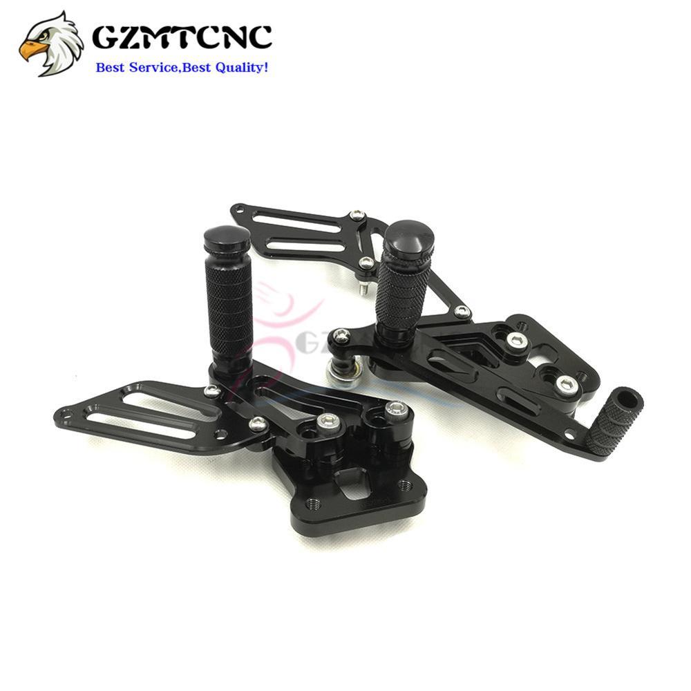 GSX-R 600//750 Rearsets Footpegs Rear Sets For Suzuki GSX-R 600 GSXR750 2006-2010 K6 K7 K8 K9