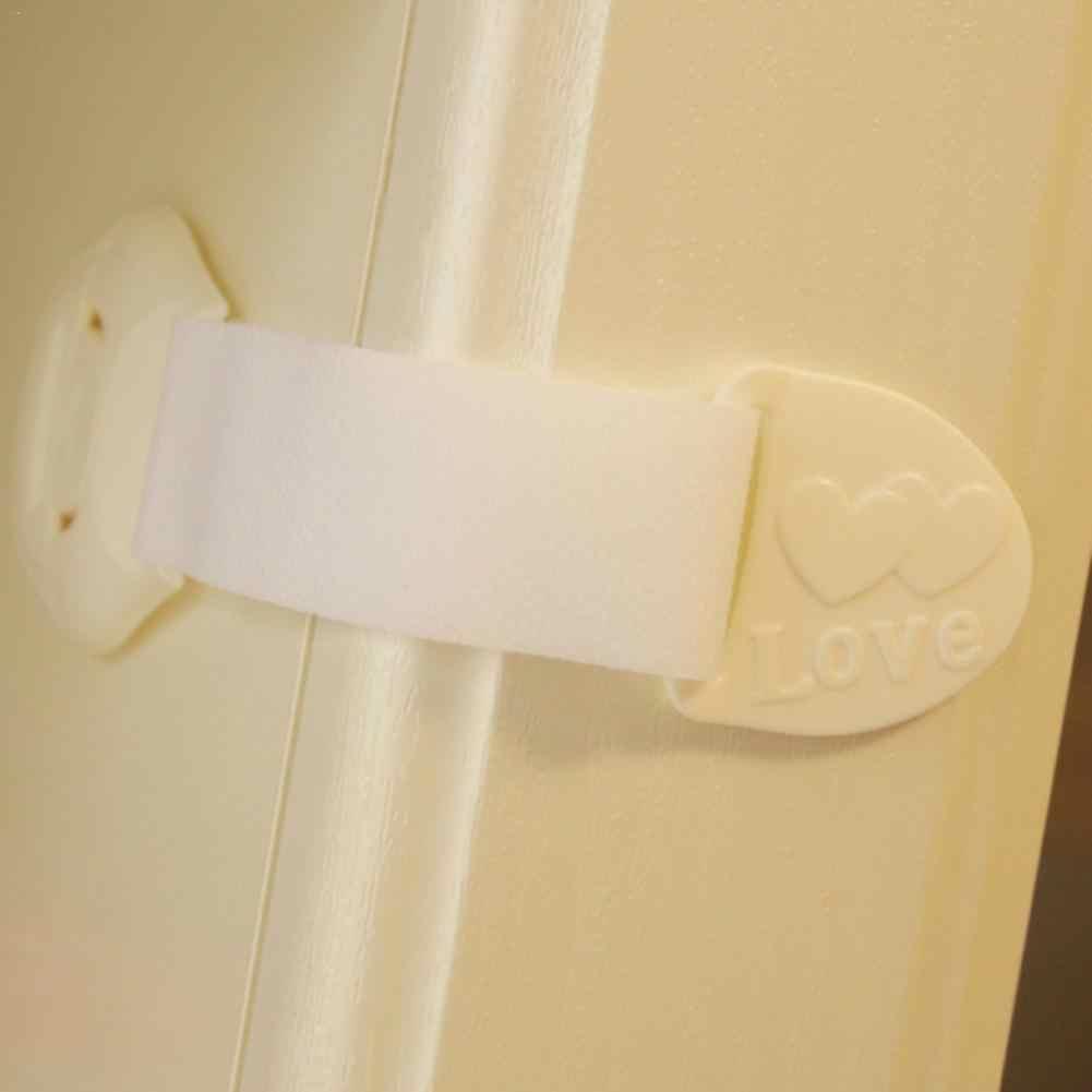 3 цвета Детские замки безопасности для детей ясельного возраста дети Безопасный ящик шкаф холодильник шкаф дверной замок Бытовые аксессуары