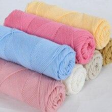 High Quality Milk Cotton Yarn Crochet Hook Fpr Wool Cotton Baby line Men and Women knitting Scarf Sweater