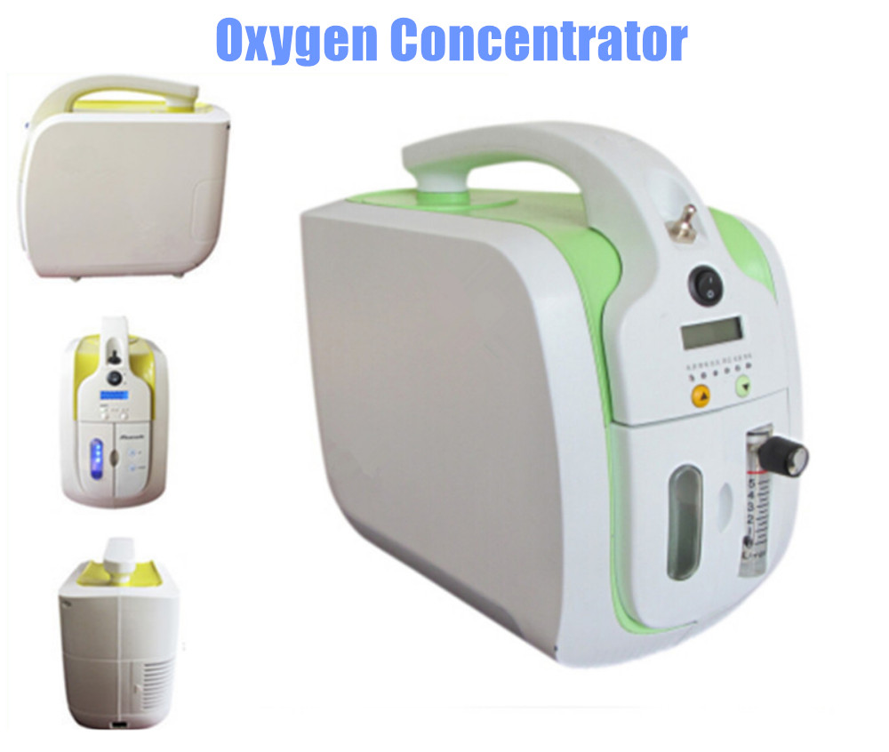 Portable Oxygen Concentrator 110V 220V Home Use Healthcare <font><b>O2</b></font> <font><b>Generator</b></font> Oxygen Bar Oxygen Supplying Machine Free Shipping image