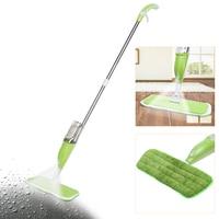 350ml Spray Water Mop Microfiber Cloth Hand Wash Plate Mop Home Living Room Wood Floor Tile